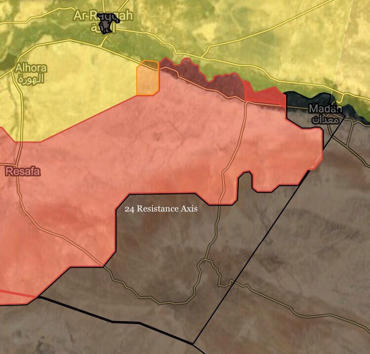 Syrian Army Captures 6 New Villages in Southeastern Raqqa Countryside (Maps, Photos)