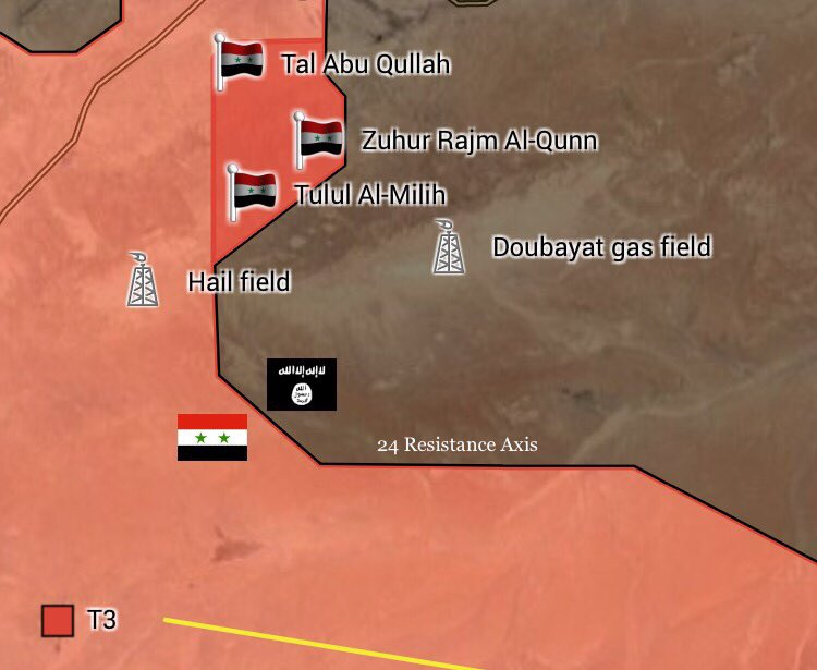 Map Update: Government Forces Progress South Of Sukhna