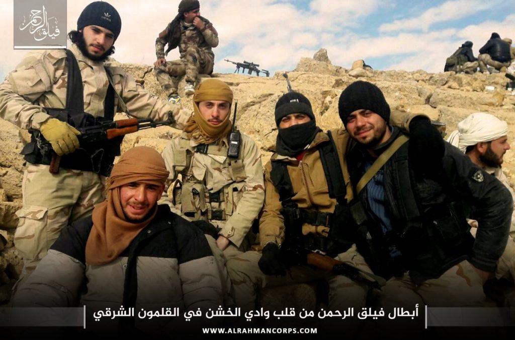 Group of Ahrar al-Sham Fighters Defects To Faylaq al-Rahman In Eastern Ghouta