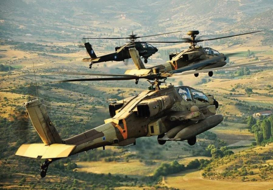 Israeli Apache Helicopter Crashes At Ramon Air Force Base. One Pilot Dead