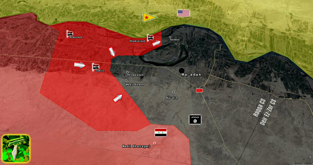 Tiger Forces And Tribal Forces Push Further In Southern Raqqah Amid Complicated Battle