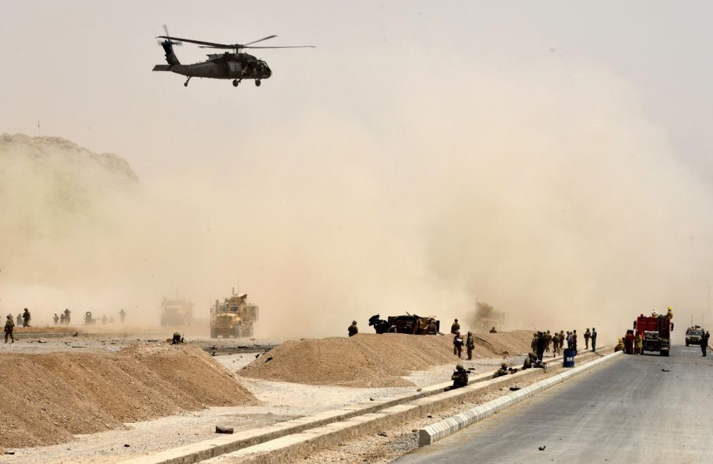 Taliban Claims Downing Of US Helicopter In Afghanistan. NATO Denies