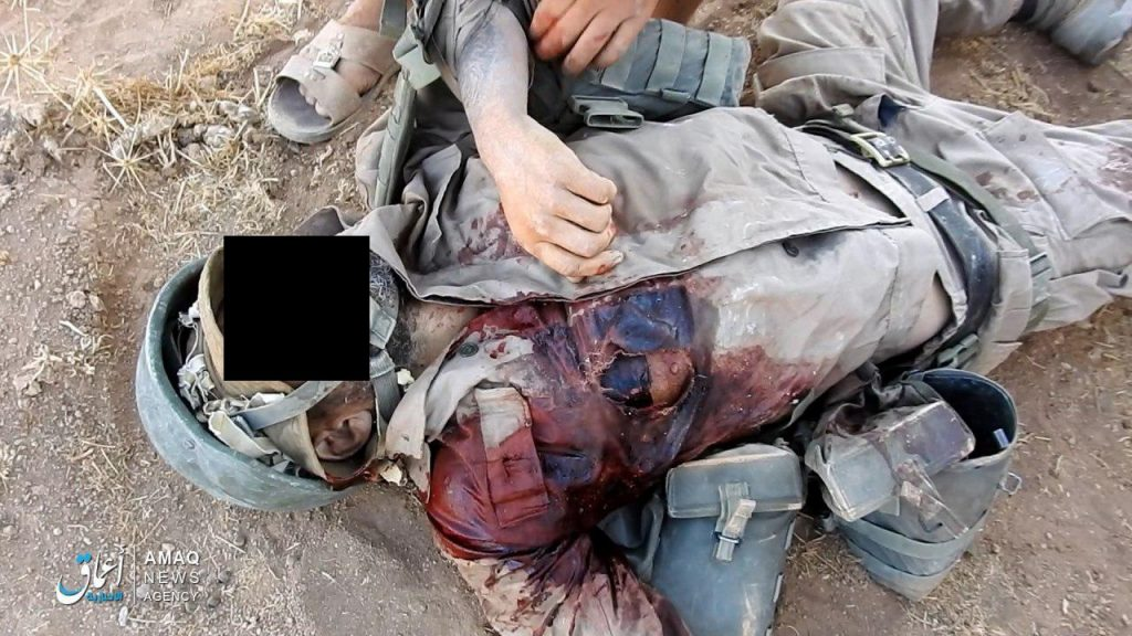 ISIS Claims Its Members Killed Two Russian Soldiers In East Hama (Photos 18+)