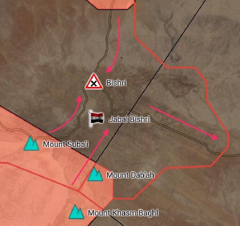 Syrian Army Captured Strategic al-Bishri Mountain In Deir Ezzor Governorate (Maps)