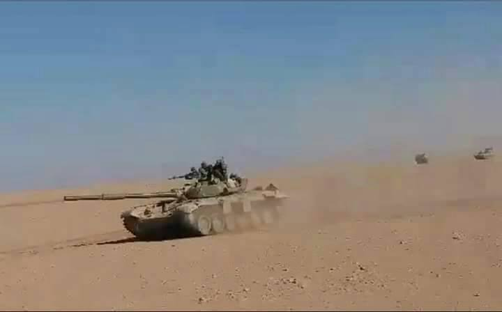 Syrian Army Advances North Of Sukhna. Heavy Clashes In Hama Countryside