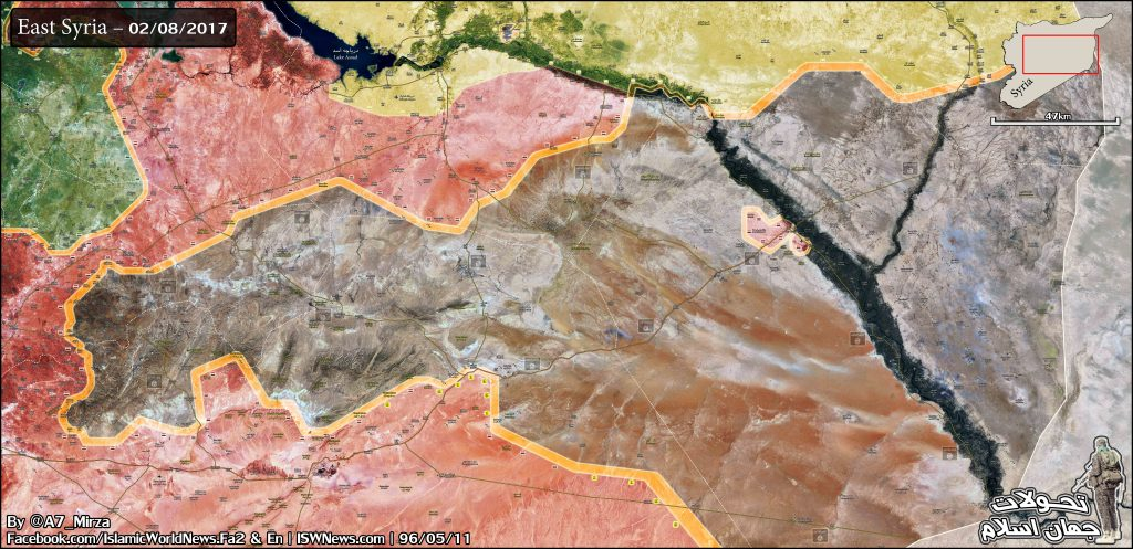 Tiger Forces Deployed In Only About 60 Km From Deir Ezzor (Maps)