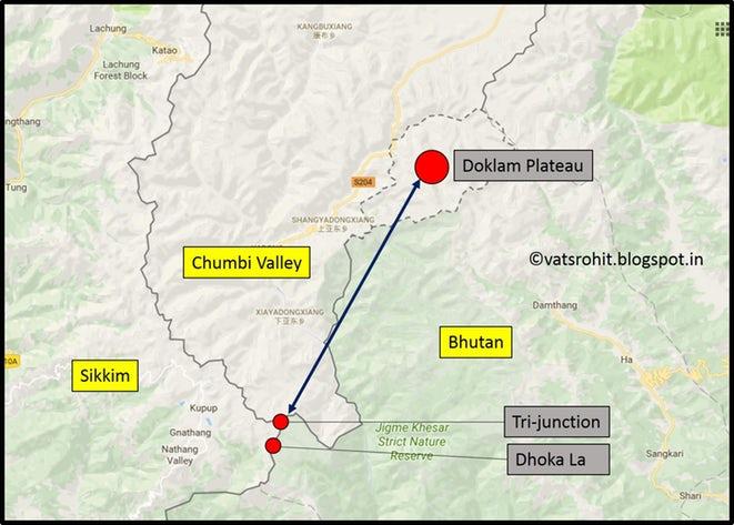 Doklam Plateau As A Stage Of Global Standoff