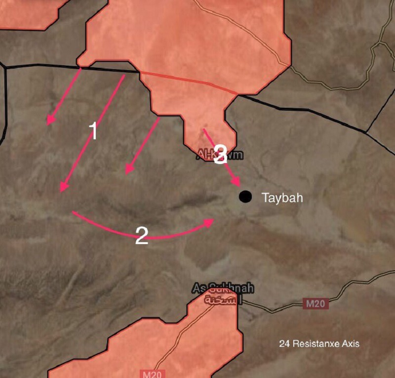 Syrian Army Makes Large Gains In Eastern Homs Countryside (Maps)