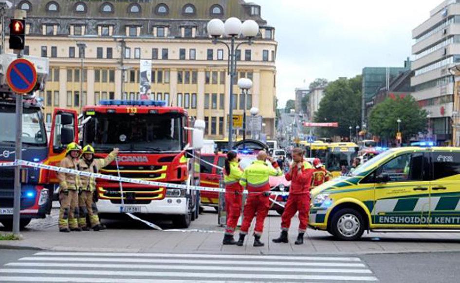 Terrorist Attack In Turku? Why Govt Hidding Suspect?