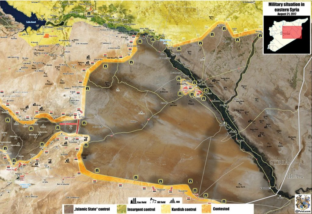 Maps: ISIS Collapses In Central And Southern Syria