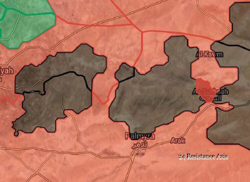 Government Forces Liberate Mount Dahik, Create Second ISIS Pocket In Central Syria (Maps)