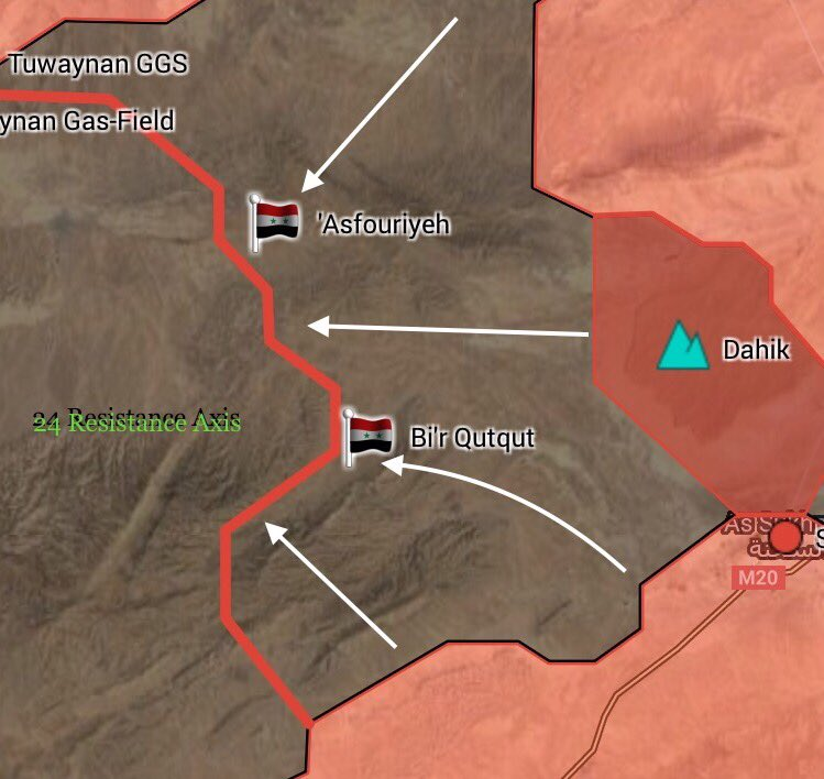 Syrian Army Captures Important Salba Town In Eastern Hama Countryside
