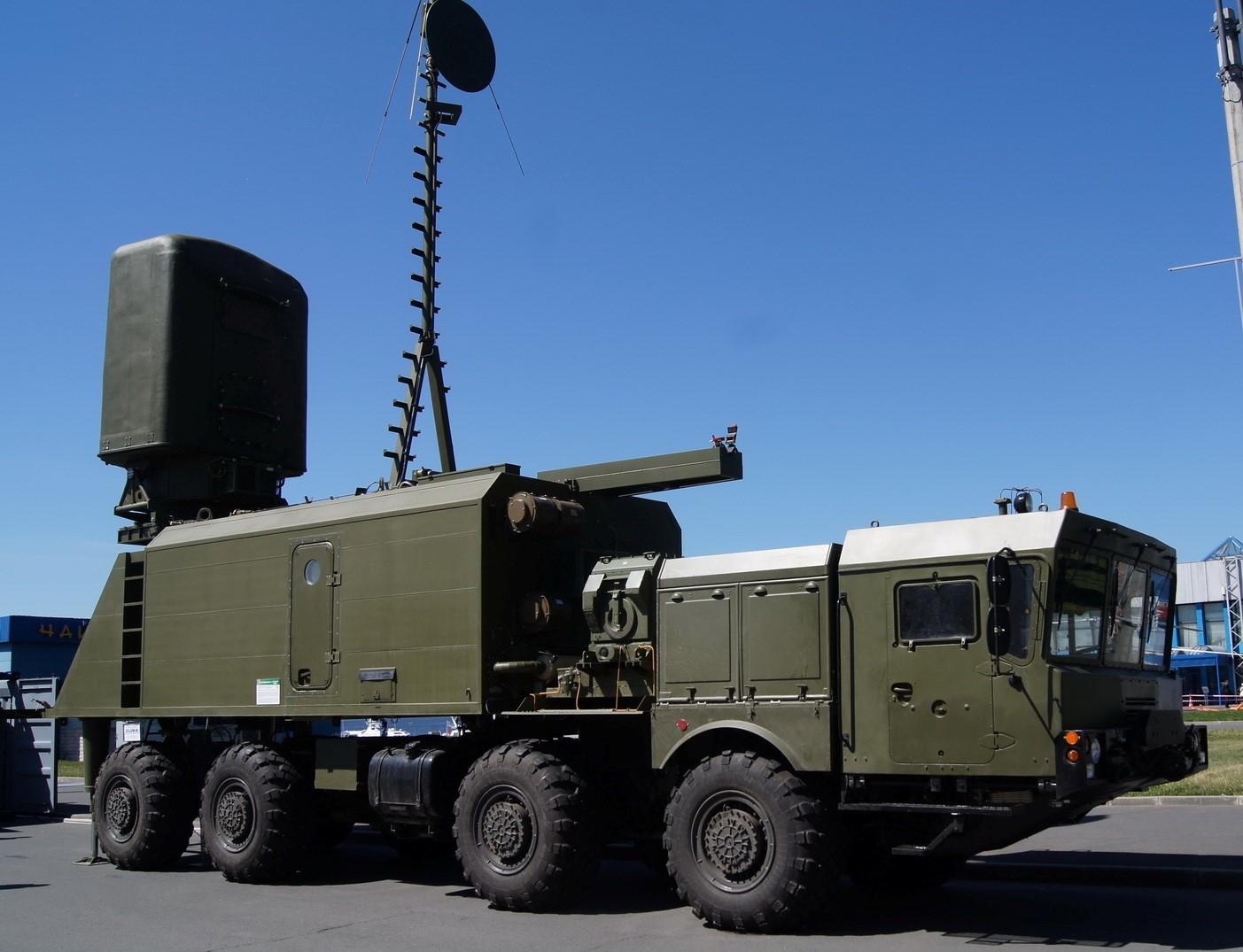 Advanced Russian Costal Radar Spotted At Tartus Naval Base