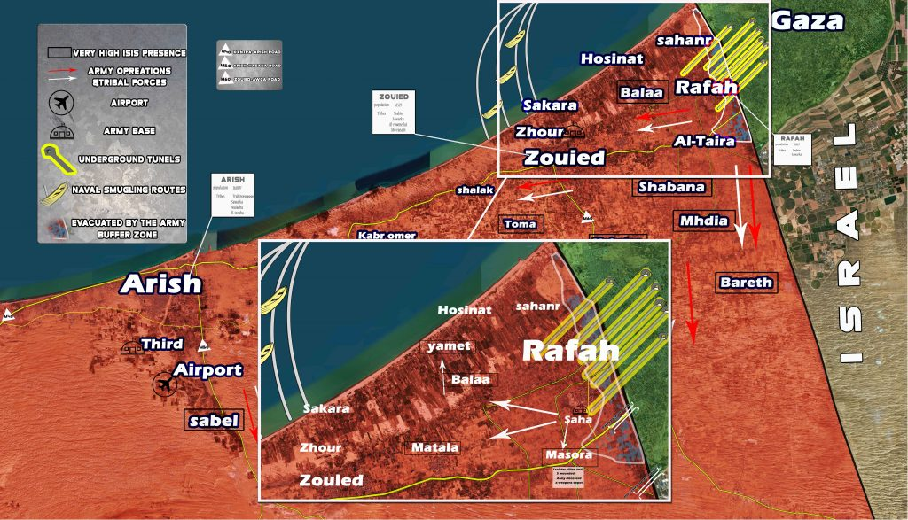 Security Situation Remains Complicated In Northern Sinai. Militants Shell Karam abu-Salem Border Crossing