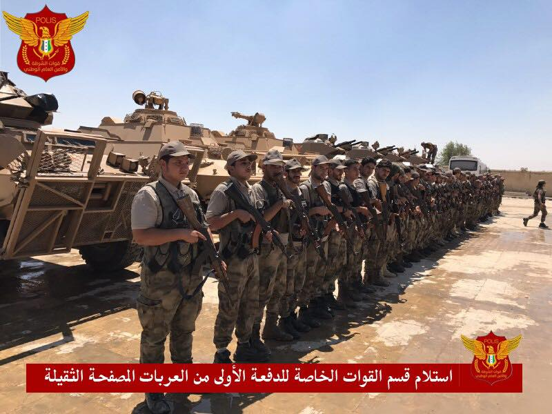 Turkey Supplies Syrian Free Army Police With Armored Vehicles (Photos)
