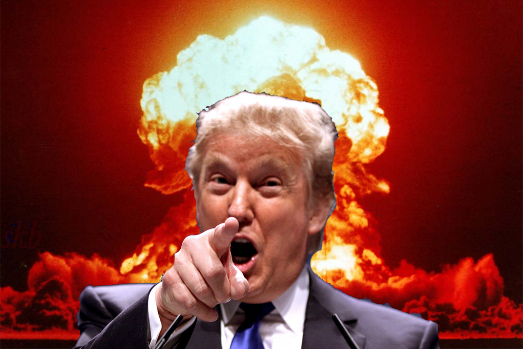 """Geography 101: """"Get Trump an Atlas"""". Trump Wants to Bomb North Korea With Nuclear Weapons. Where is the Target Country?"""