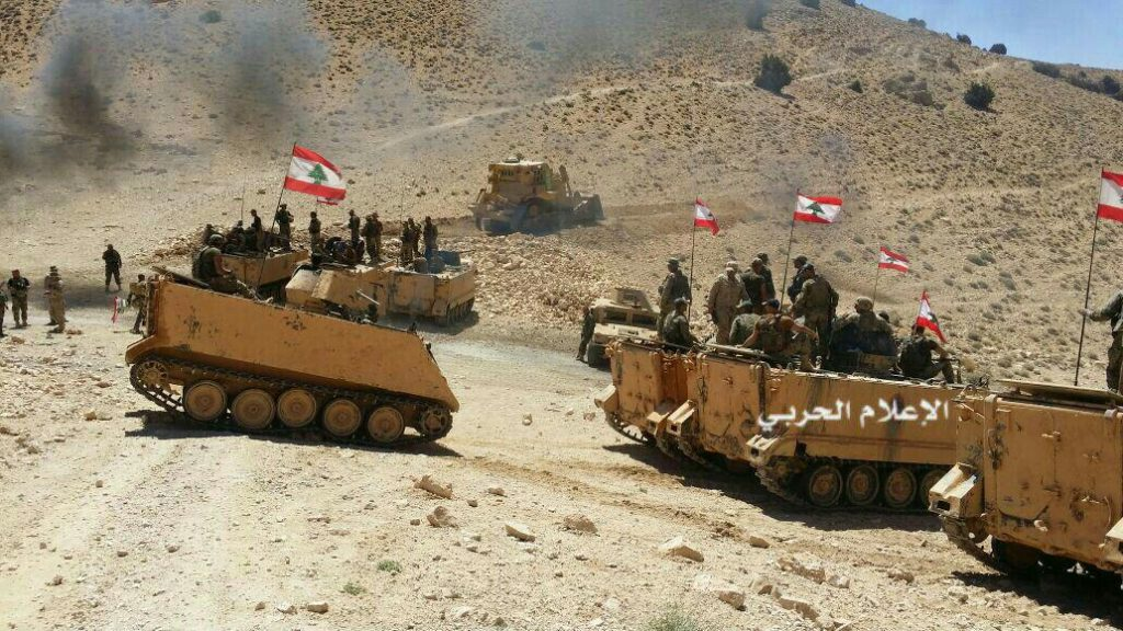 Photo Report: Hezbollah, Syrian Army And Lebanese Army At Recently Liberated Border Area Between Syria And Lebanon