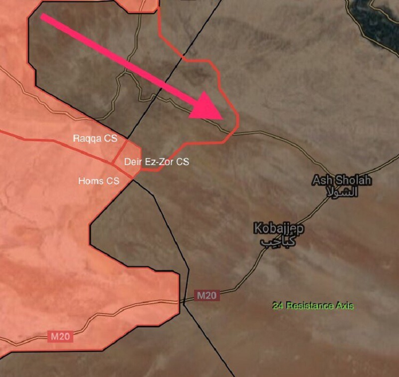 Syrian Army Captured Strategic al-Bishri Mountain In Deir Ezzor Governorate (Maps)