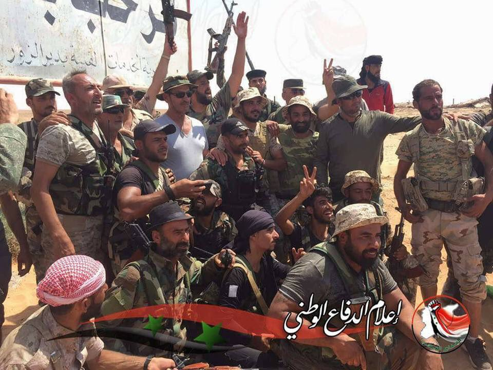 Photos: Government Troops Are In Deir Ezzor Province