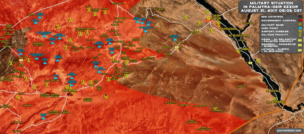 Syrian Republican Guard, Allies Take Control Of Harbisha Area En Route To Deir Ezzor (Maps)