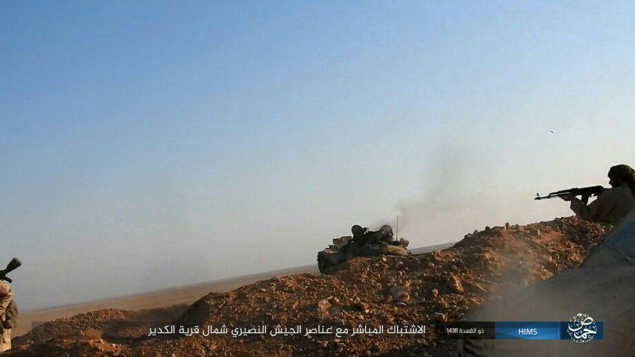 Syrian Army Advances North Of Sukhna. Heavy Clashes In Hama Countryside