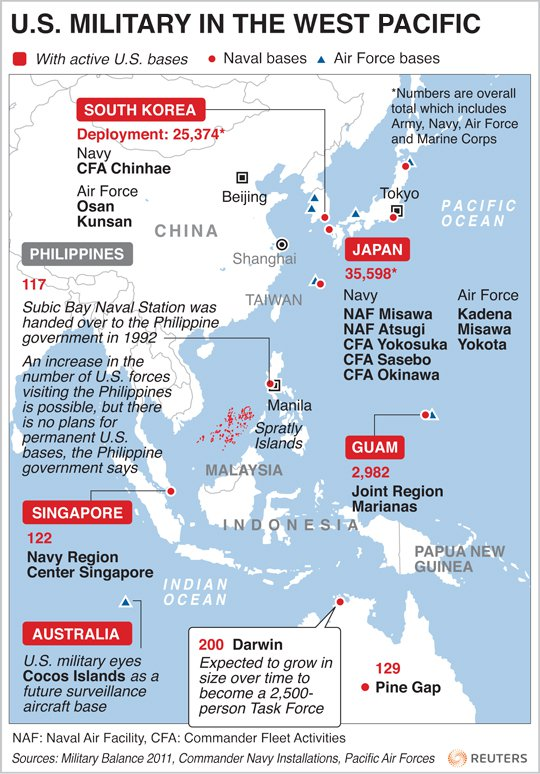 MORE AMERICAN TROOPS TO AFGHANISTAN TO KEEP THE CHINESE OUT - Us military bases in okinawa map