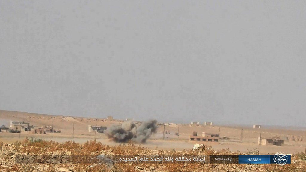 Intense Fighting Continues Between Syrian Army And ISIS In Southern Raqqa