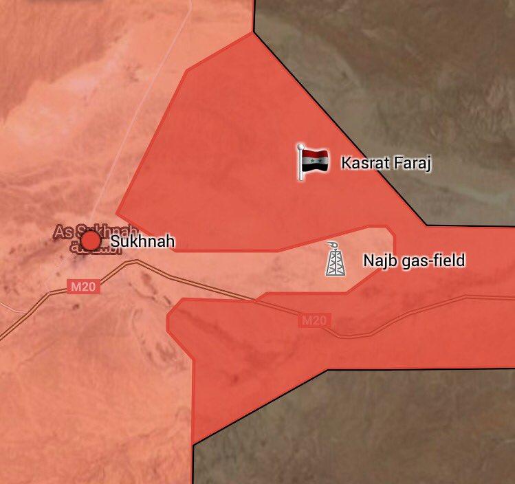 Syrian Army Captures Dahik Sharqi Mount Northeast Of Sukhna, Advances Along Road To Deir Ezzor