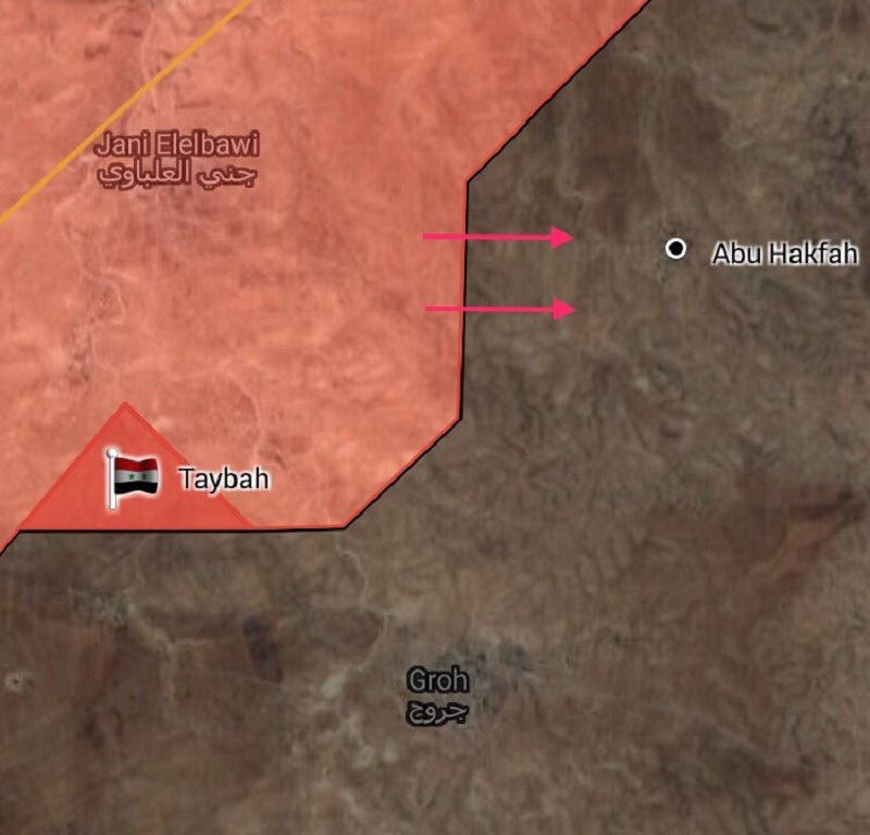 Syrian Army Liberates New Points In Outskirts Of ISIS-held Town Of Uqayribat (Maps)