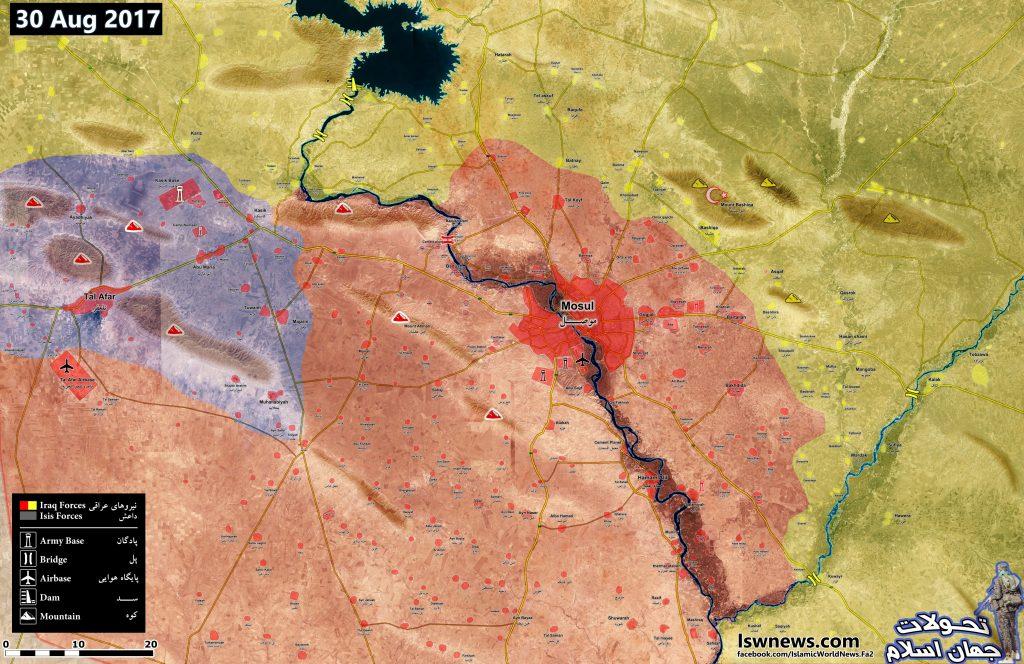 Iraqi Forces Capture Al-Ayadiya Town Near Recently Liberated Tal Afar