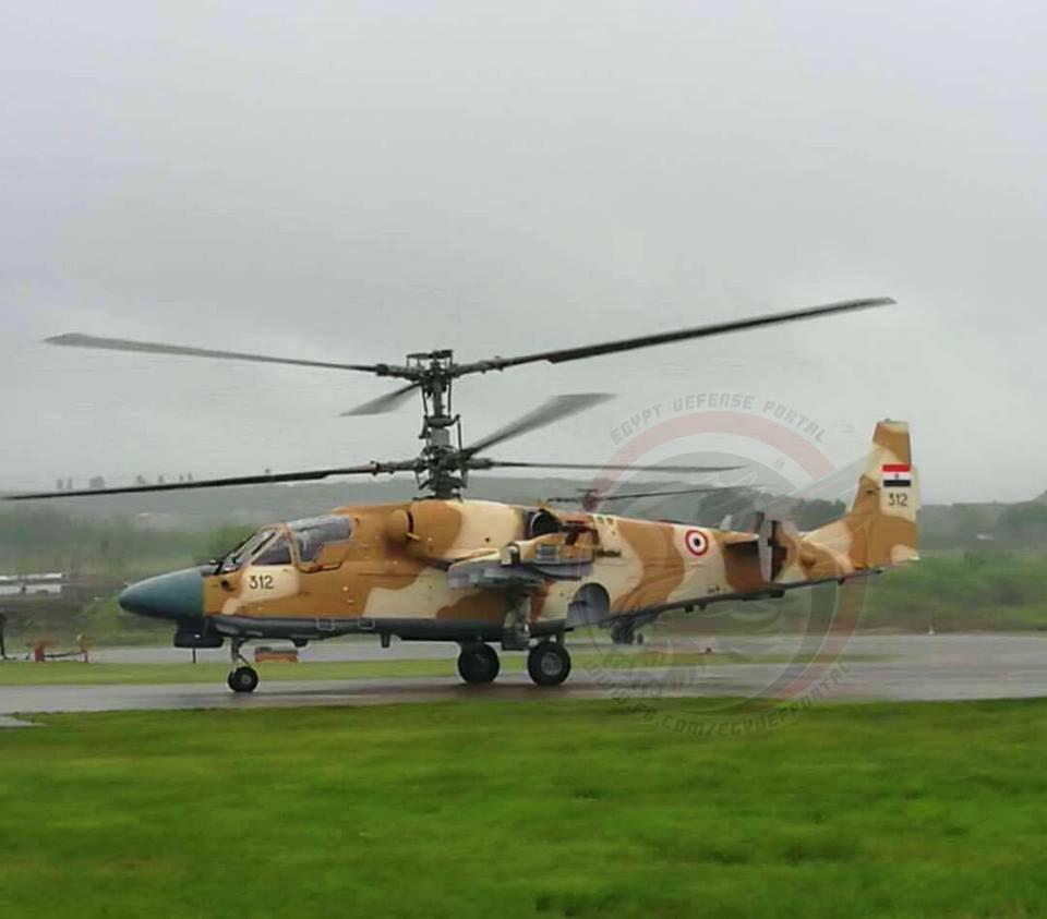 Russia To Deliver Second Banch Of Ka-52 Alligator Attack Helicopters To Egypt By End Of August