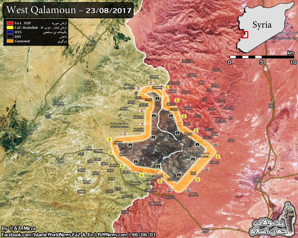 Military Situation In Western Qalamoun Following 5 Days Of Operations At Syrian-Lebanese Border