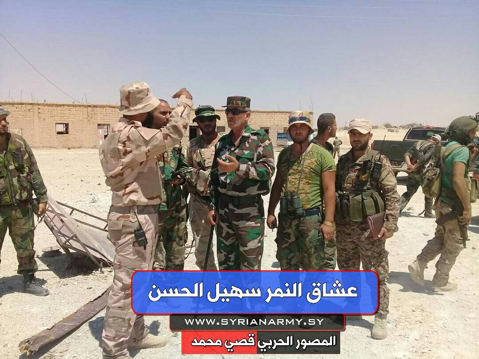 Photos: Tiger Forces Troops In Recently Liberated Kawn Oasis In Homs Province