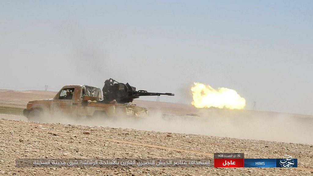 Syrian Army Enters Key ISIS-held Strong Point Near Iraqi Border (Photos, Video)