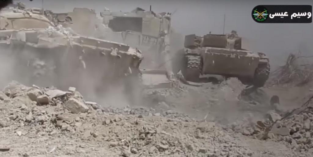 Syrian Army Captures Al-Manashir Roundabout In Jobar District Near Damascus