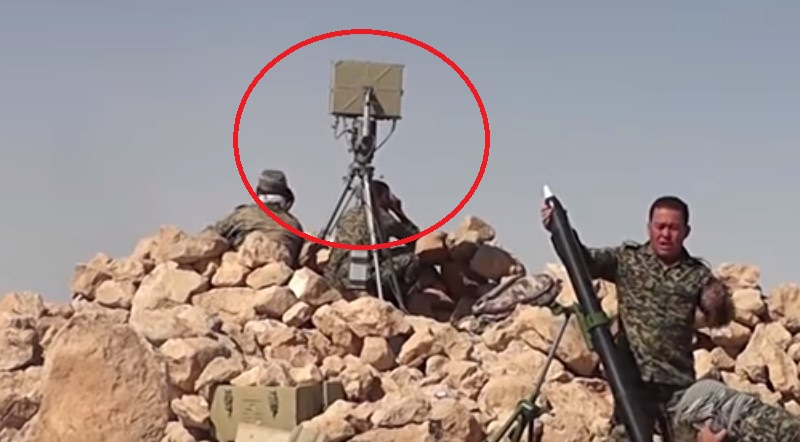 Liwa Fatemiyoun Uses Iranian Tarigh Portable Radar System In Fight Against ISIS In Sukhna Area (Video)