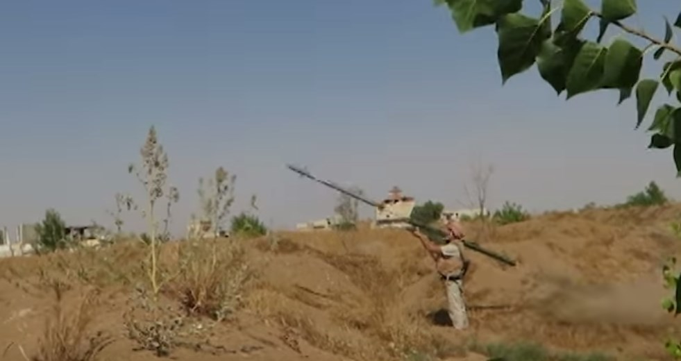 Russian Troops Use Verba MANPAD In Damascus Countryside (Video)