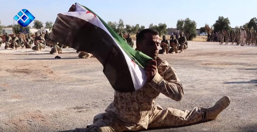 Video: FSA Ninjas And Revolutionary Leg-Split