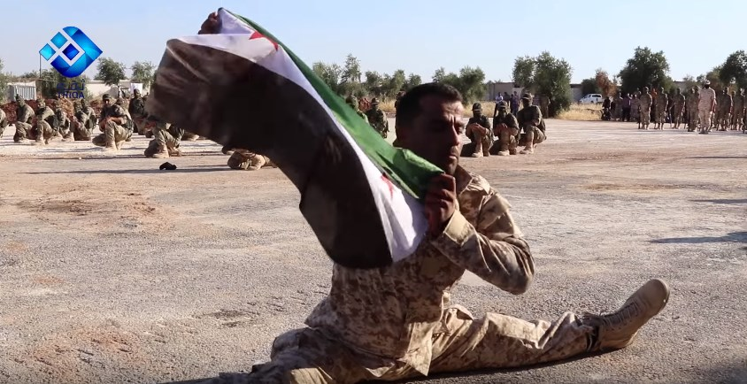 Video: FSA Ninjas And Revolutionary Leg-Split