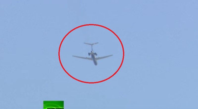 Putin Is Watching You: Tupolev Tu-154 Surveillance Plane Flies Over  Washington DC