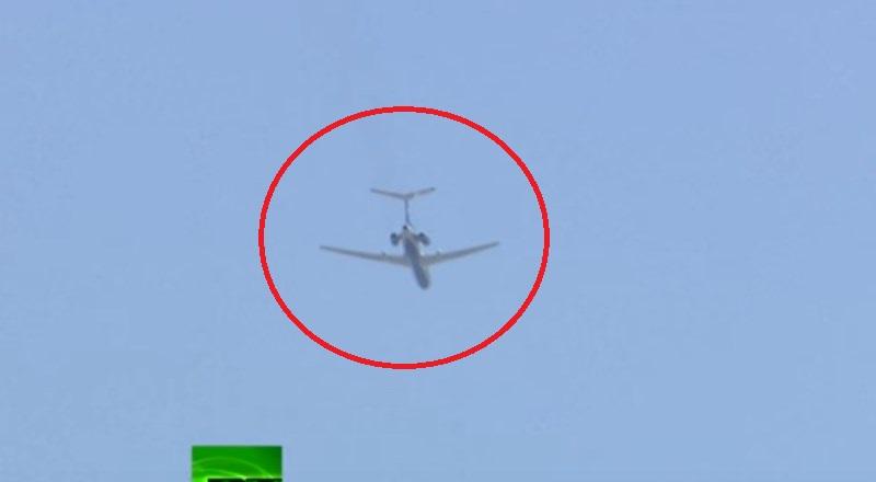 Putin Is Watching You: Tupolev Tu-154 Surveillance Plane Flies Over  Washington DC