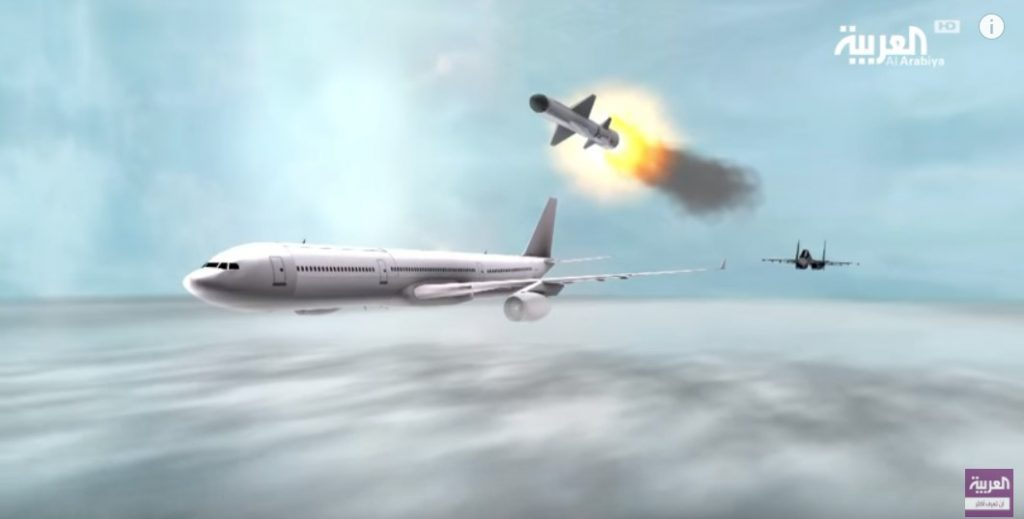 Saudi State-Owned TV Shows Animation Of Saudi Fighter Downing Qatari Passenger Jet