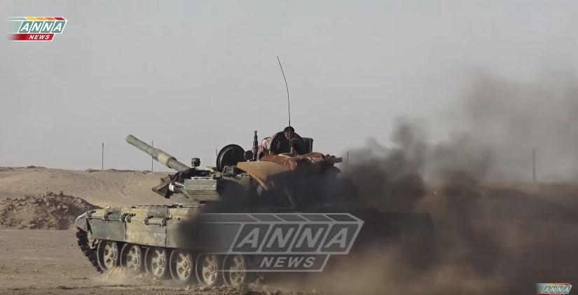 Video: Tiger Forces Advancing Along Euphrates River