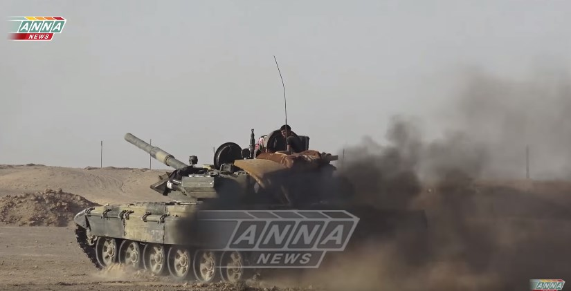 Video: Tiger Forces Advancing Along Euphrates River