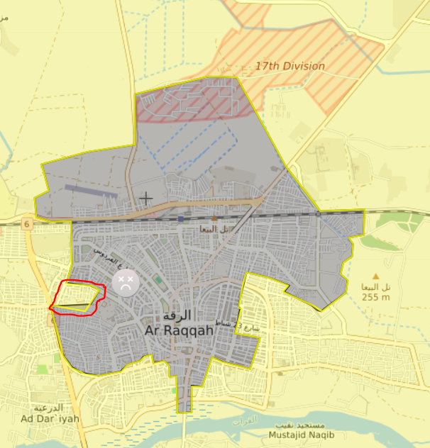 Syrian Democratic Forces Capture Al-Karim District in Raqqa City