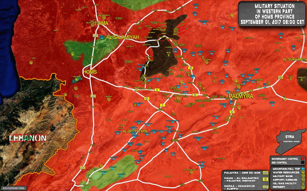 Breaking: Government Forces Liberate Key Town Of Uqayribat From ISIS