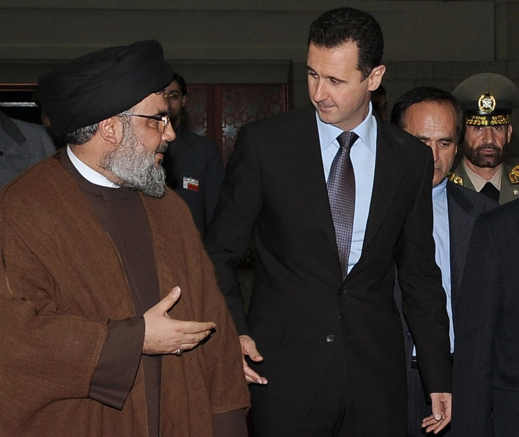 Hezbollah Leader Met With Syrian President In Damascus To Discuss Western Qalamoun Deal