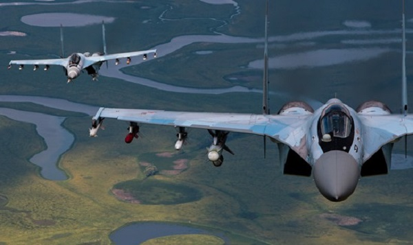 Russia to Upgrade Its Supermaneuvarable Su-35S Fighter