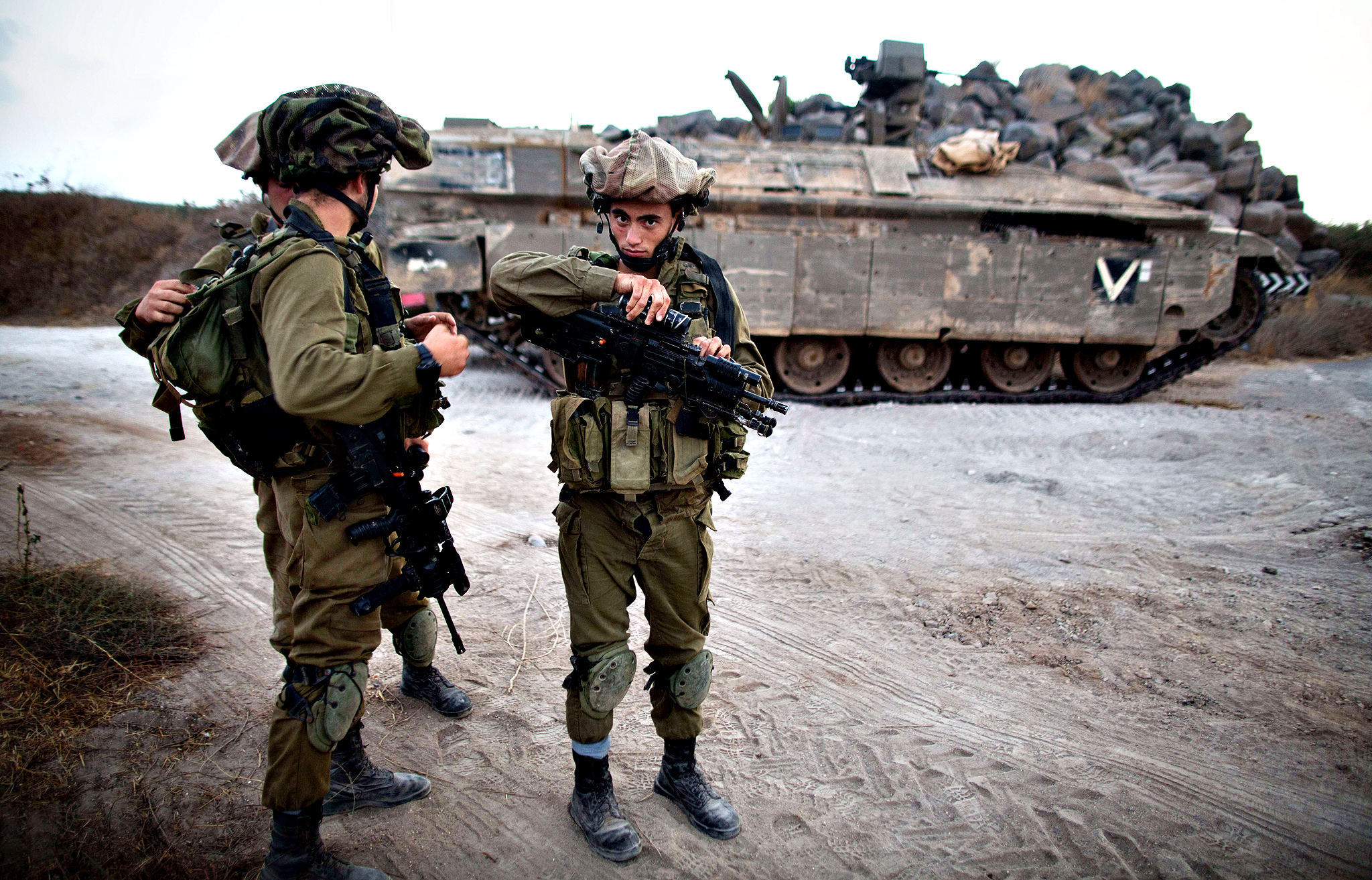 Israeli Military Prepares For Unrest In Golan Heights, As U.S. Moves To Recognize Them As Israeli Territory