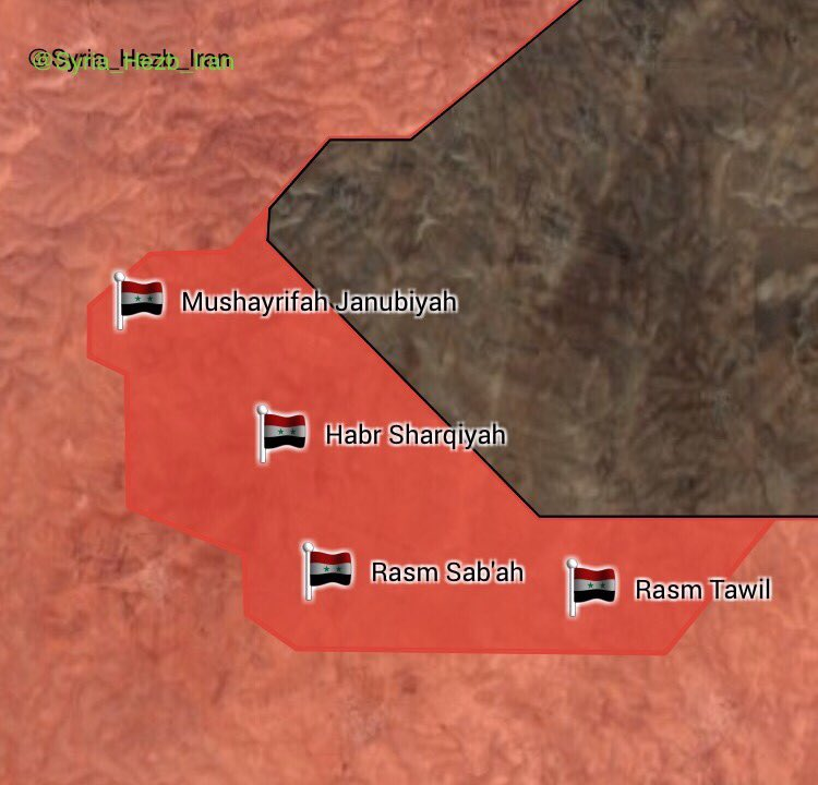 ISIS Withdraws From 4 More Villages Under Syrian Army Pressure In Eastren Hama (Map)